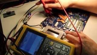 027 Диагностика и поиск неисправности Samsung R-580, ремонт ноутбука(https://goo.gl/FWpf2u Схемы на ноутбуки - https://yadi.sk/d/NjaM201lmmbER Канал дочки - https://www.youtube.com/watch?v=qB-wiG3-uDk Все паяльные ..., 2015-08-05T05:27:55.000Z)