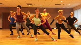 """""""7 RINGS"""" Ariana Grande - Dance Fitness Ballet Barre with Gliders Valeo Club"""