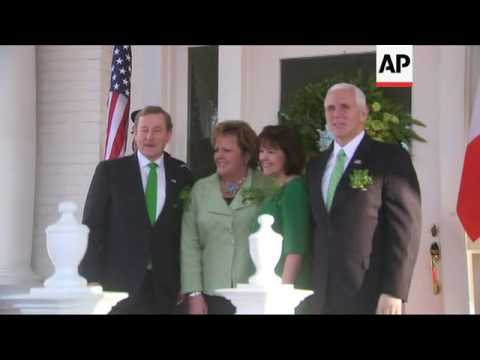 Pence Hosts Ireland's PM for Breakfast