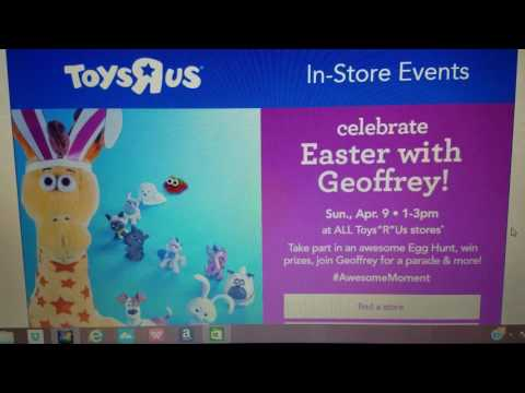 FREE EVENT AT TOYS R US