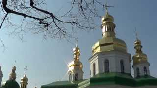 Welcome to UKRAINE: Kiev Pechersk Lavra Monastery Cupols!(VIDEO = http://youtu.be/X9cEqxyWtGQ Welcome to UKRAINE, Kiev: Kiev Pechersk Lavra Monastery, on the right bank of the river Dnieper, in Kiev, the capital of ..., 2014-02-01T23:19:44.000Z)