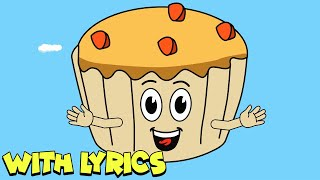 The Muffin Man WITH LYRICS | Nursery Rhymes And Kids Songs