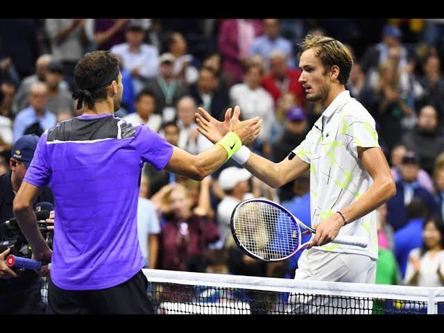 Daniil Medvedev vs Grigor Dimitrov  | US Open 2019 Semi-Final Highlights