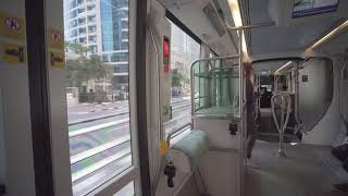 United Arab Emirates, Dubai, tram ride from DAMAC Properties to DMCC thumbnail