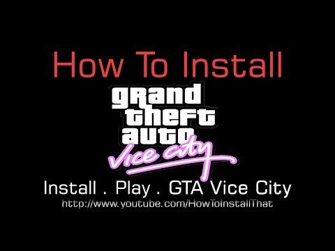 How To Install Gta Vice City Youtube