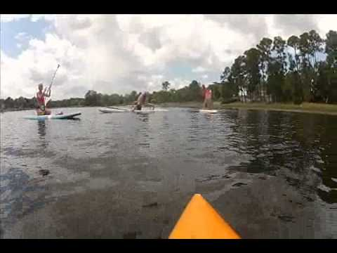 Guruv Yoga and Paddleboard Orlando Fly!