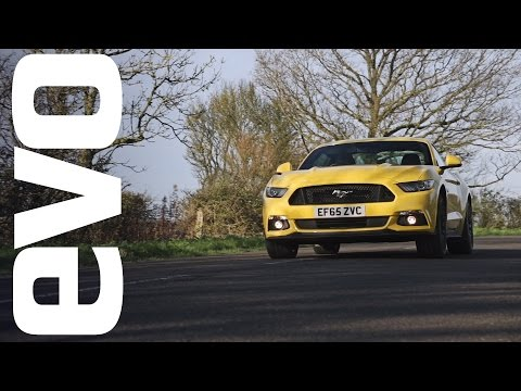 Ford Mustang 5.0 GT review - finally a decent Mustang? | evo REVIEWS
