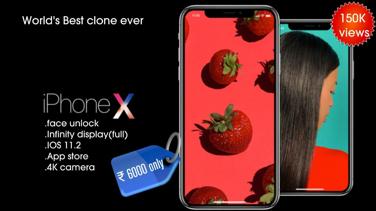 iPhone X (256GB) Clone Unboxing and review! india|Hindi| feat.Technicalguruji