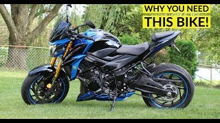 The Ultimate BIKE! 2018 GSX-S750 REVIEW | FIRST RIDE