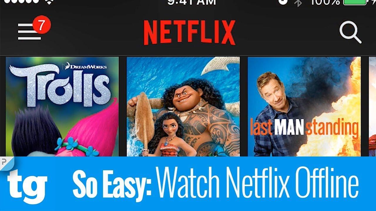 can i watch netflix offline