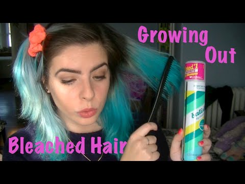 Growing Out Bleached Hair Tips And Tricks