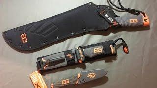 Bear Grylls Gerber Gear and Knife Review