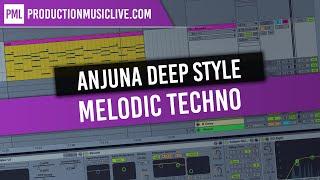 Writing Melodic Deep in Style of Caribou, Clawz SG, Anjunadeep (G# Minor)
