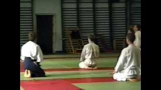 1997 Aikido Shodan Grade Examination.