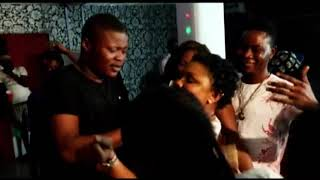 PASUMA DANCING TO DAVIDO AND OLAMIDE'S SONG IN THE CLUB