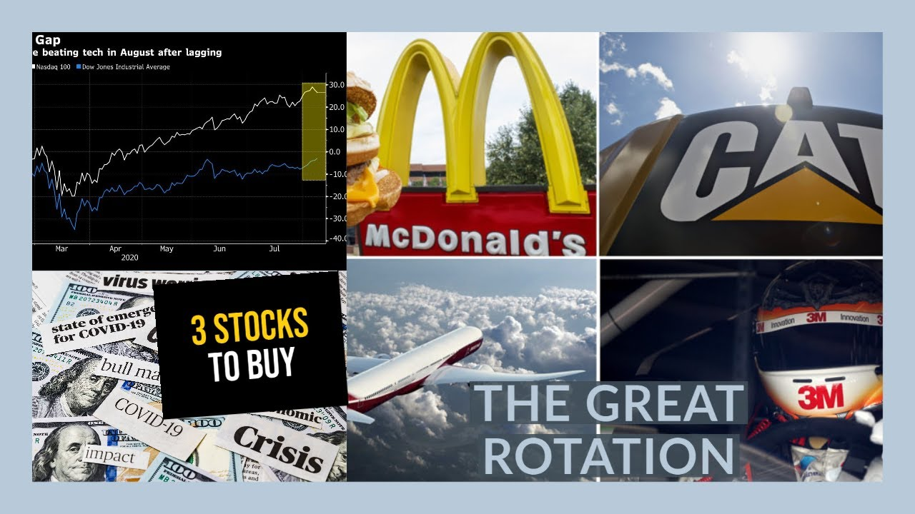 THE STOCK MARKET IS GOING TO ROTATE - My Watchlist - 3 STOCKS TO BUY NOW!!