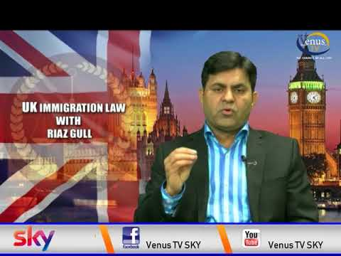 IMMIGRATION LAW WITH RIAZ GULL LIVE PART 01