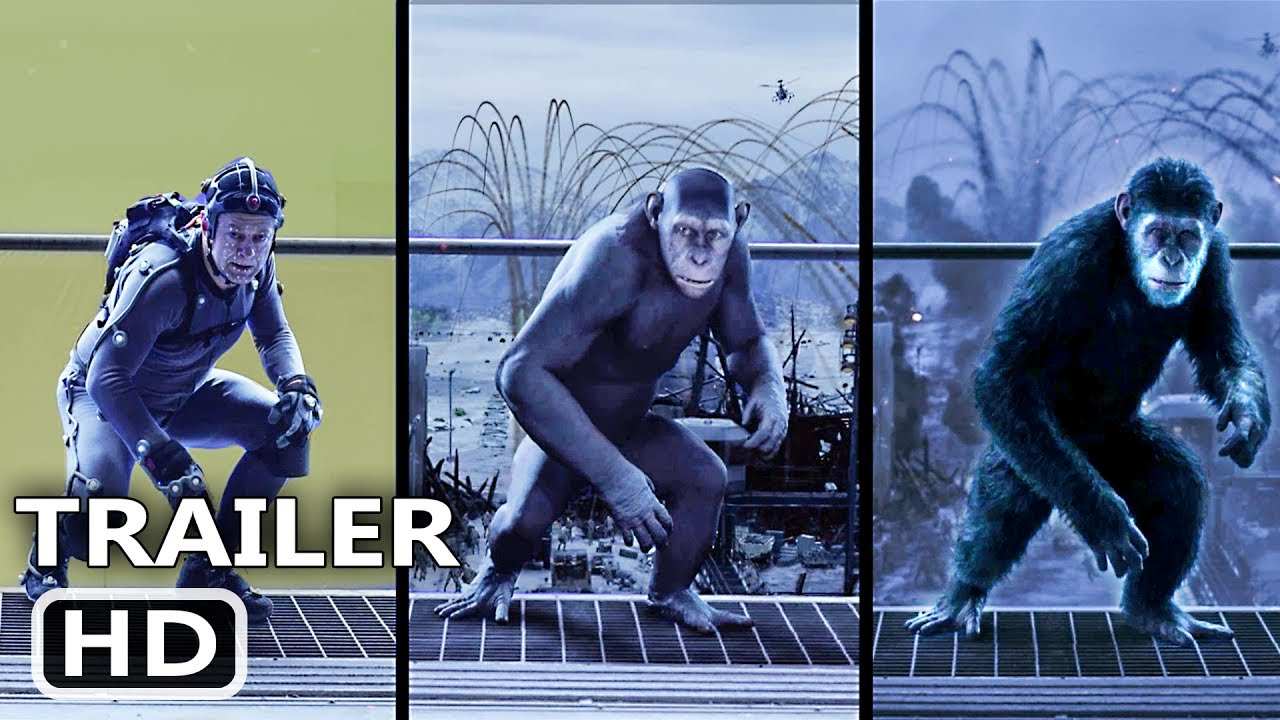 Behind The Scenes Of War For The Planet Of The Apes 2017