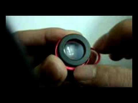 Assemble The Fisheye Lens