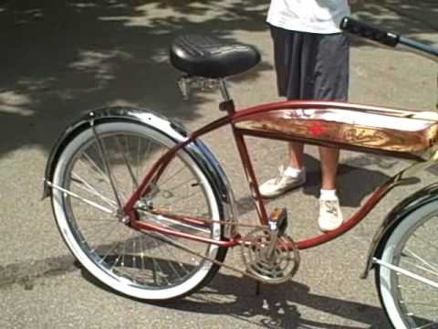 1950 S Columbia Beach Cruiser Bicycle Youtube