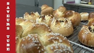 How to make Brioche with TV Chef Julien from Saveurs Dartmouth U.K.