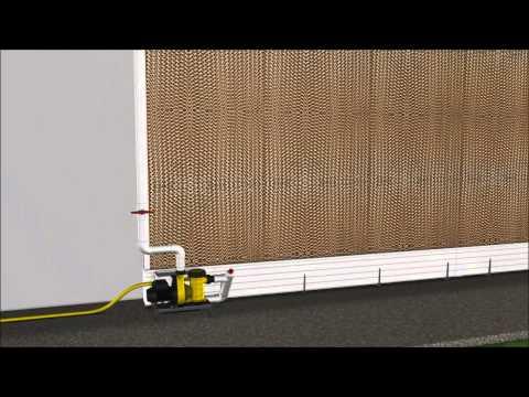 Genugten Agri Pad-Cooling installation instructions