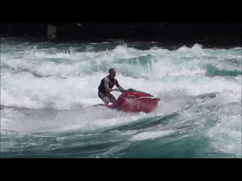 Daredevils Jetski Niagara Falls Gorge Class 5 Rapids 6/19/16