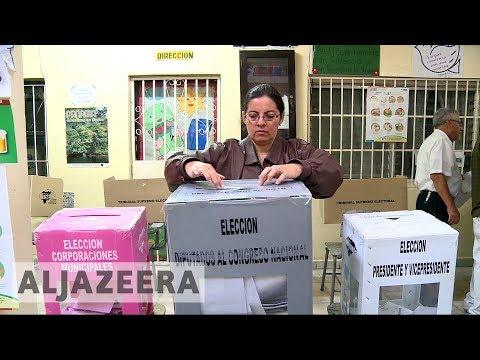 Voting under way in Honduras presidential election