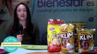 #HoyPorLaAlimentación - Alimentación para crecer con KLIM ® de NESTLÉ ®