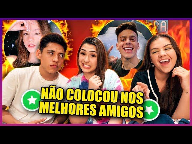 ELA TIROU ELE DOS MELHORES AMIGOS! ft. Vivi e Nathan