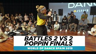 BATTLES 2 VS 2 ALL STYLES FINALS | FRONTROW | World of Dance Spain Qualifier 2019 | #WODSP19