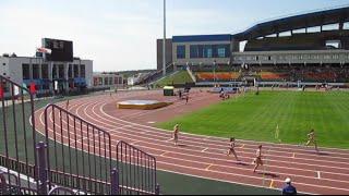 Лёгкая атлетика, Гродно-2015, 4х400 жен., 2 забег 0+100-
