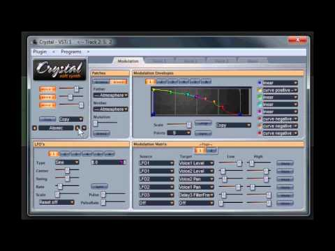 crystal soft synth by green oaks video 2