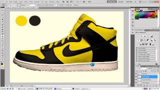 How to design Nike shoes in Photoshop + free template