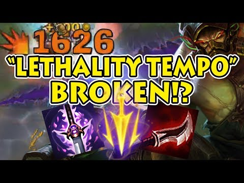 "ASSASSIN TRYNDAMERE - ""Lethality Tempo"" High Sustained Burst Damage: Ft. Mirror Match [Patch 7.22]"