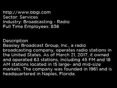 BBGI Beasley Broadcast Group, Inc  BBGI buy or sell Buffett read basic