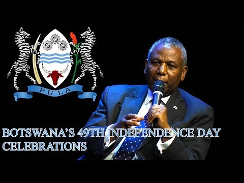 Botswana Independence Day 2015 celebrations (Brussels)