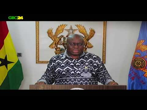 PRESIDENT AKUFFO-ADDO ADDRESSING THE NATION ON GHANA-US MILITARY CO-OPERATION AGREEMENT