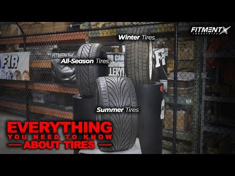 Everything You Need To Know About Tires (All-Season vs Summer vs Winter)