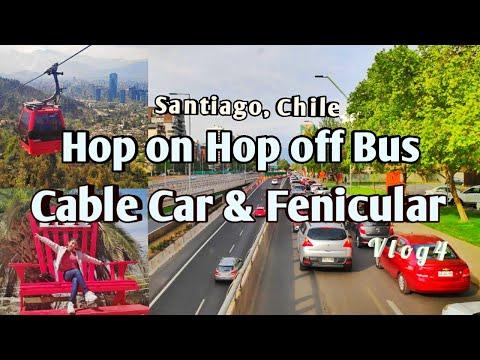 Santiago City Tour | Hop on hop off bus | Cable Car | Fenicular