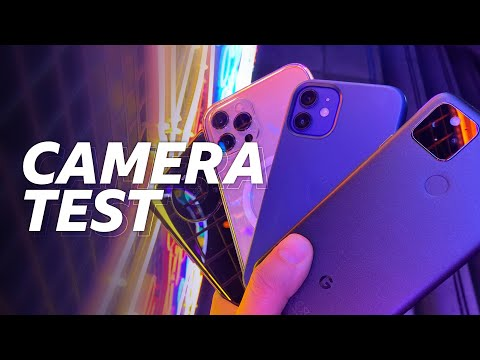 iPhone 12, Pixel 5 and Mate 40 Pro Cameras Put To The Test - BBC Click