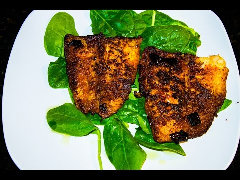 Gamer Gourmet - Blackened Swai (VERY SPICY) Please Read Discription