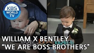 """William X Bentley """"We are Boss Brothers"""" [The Return of Superman/2018.06.24]"""