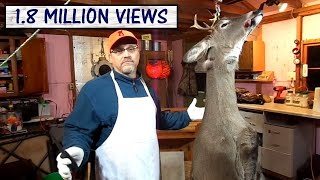 Processing A Deer At Home - Skinning A Deer