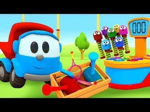 Машинка Грузовичок Лева и веселые гвоздики - новая серия! Развивающие мультики для детей