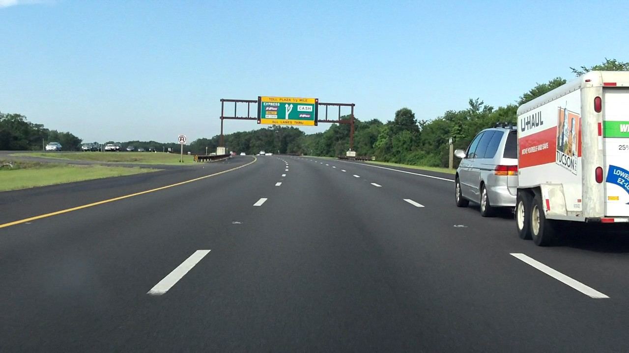 Garden State Parkway Exits 89 To 80 Southbound 2016 Construction Update Youtube