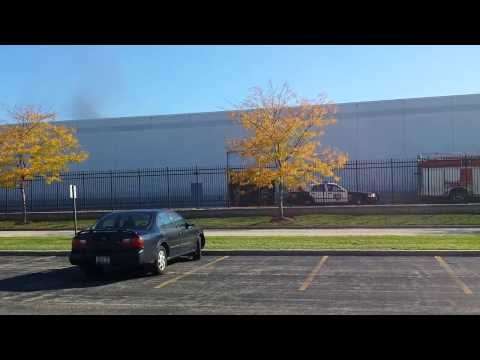 Fire, explosions inside FedEx warehouse in Wheeling, IL