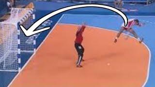 Rare Goals we see in Handball