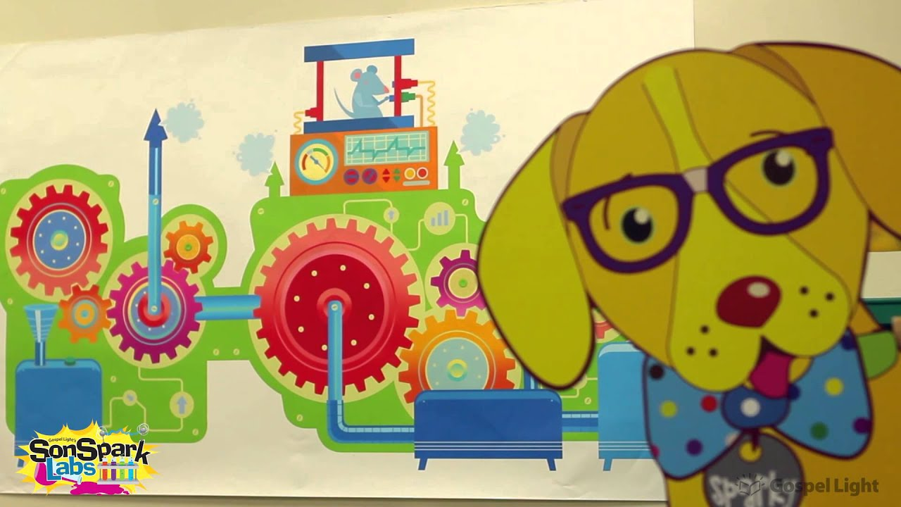decorating preschool room lab vbs sonspark labs gospel light youtube