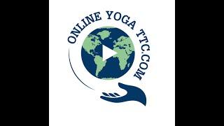 Online Yoga TTC Official Logo - Online Yoga Teacher Training with Master Dharm and Kru Kluja.